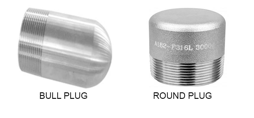 ASME B16.11 Round Threaded Bull Plug Manufacturers