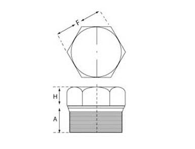 ASME B16.11 Threaded Hex Plug Dimensions